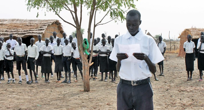 Support the Raising South Sudan project