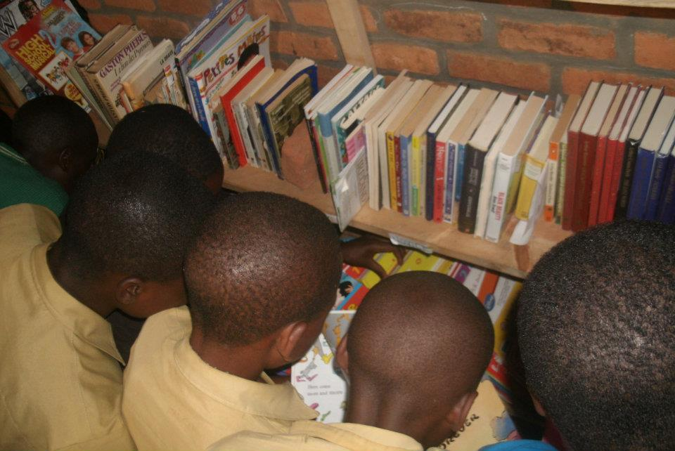 Mwiko Students with Books